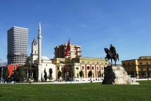 Budva: Tirana Day Trip with Return Transportation
