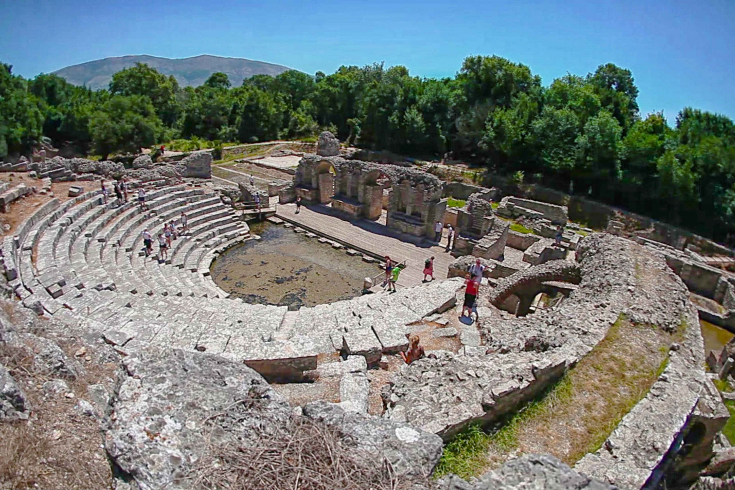 Day Trip to Saranda and Butrint National Park from Corfu
