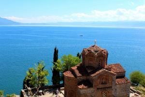 Skopje: Transfer to Tirana w/ Half-Day Tour of Ohrid