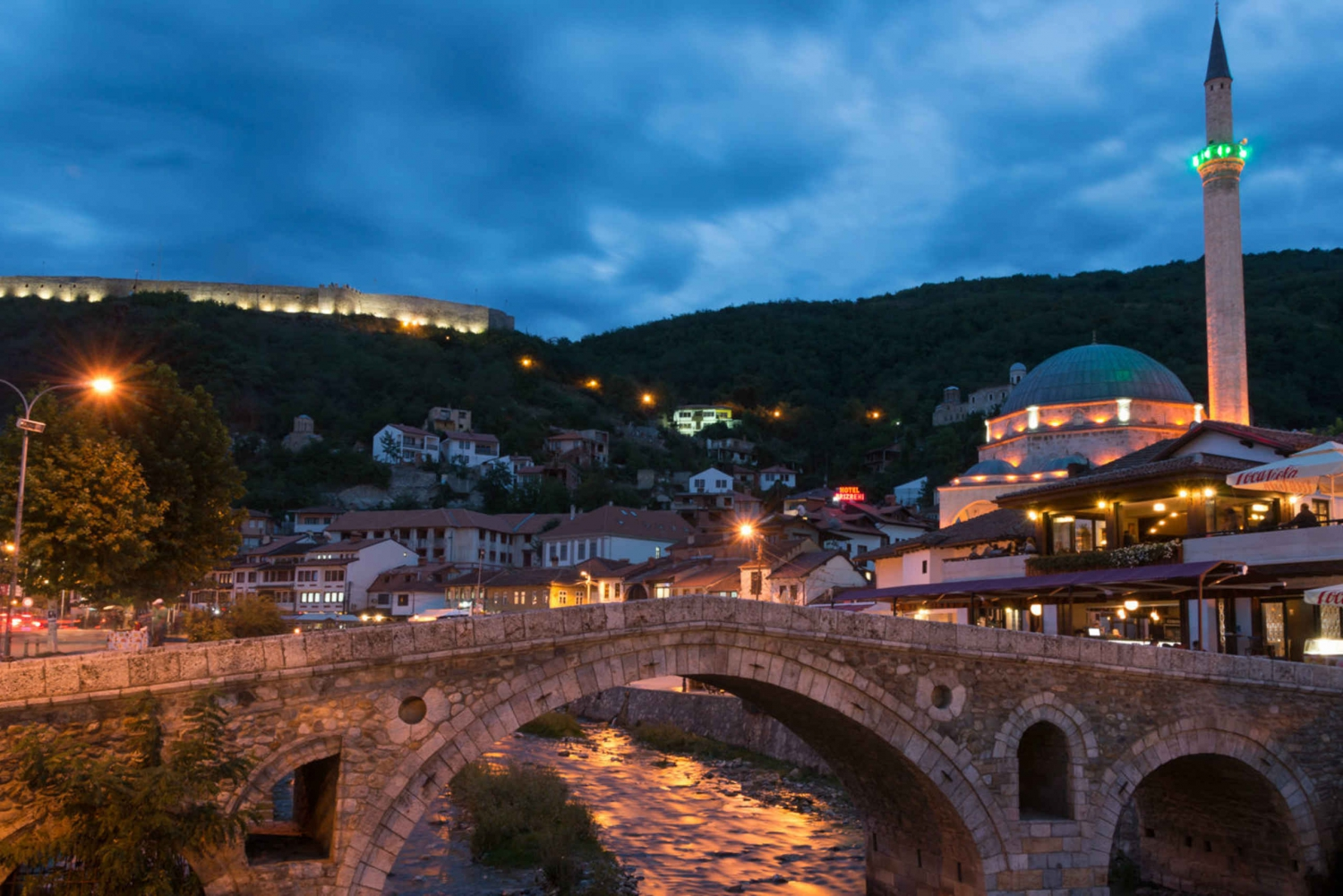 Transfer Between Skopje and Tirana and Prizren Half-Day Tour