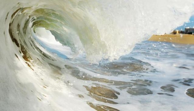 Surfing in the Algarve, Portugal