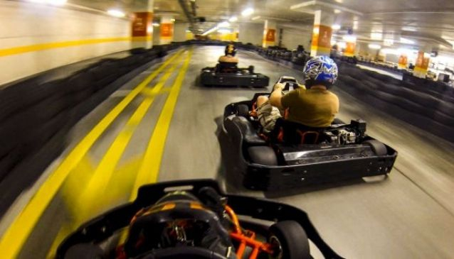 Hot Wheels Raceway Indoor Karting