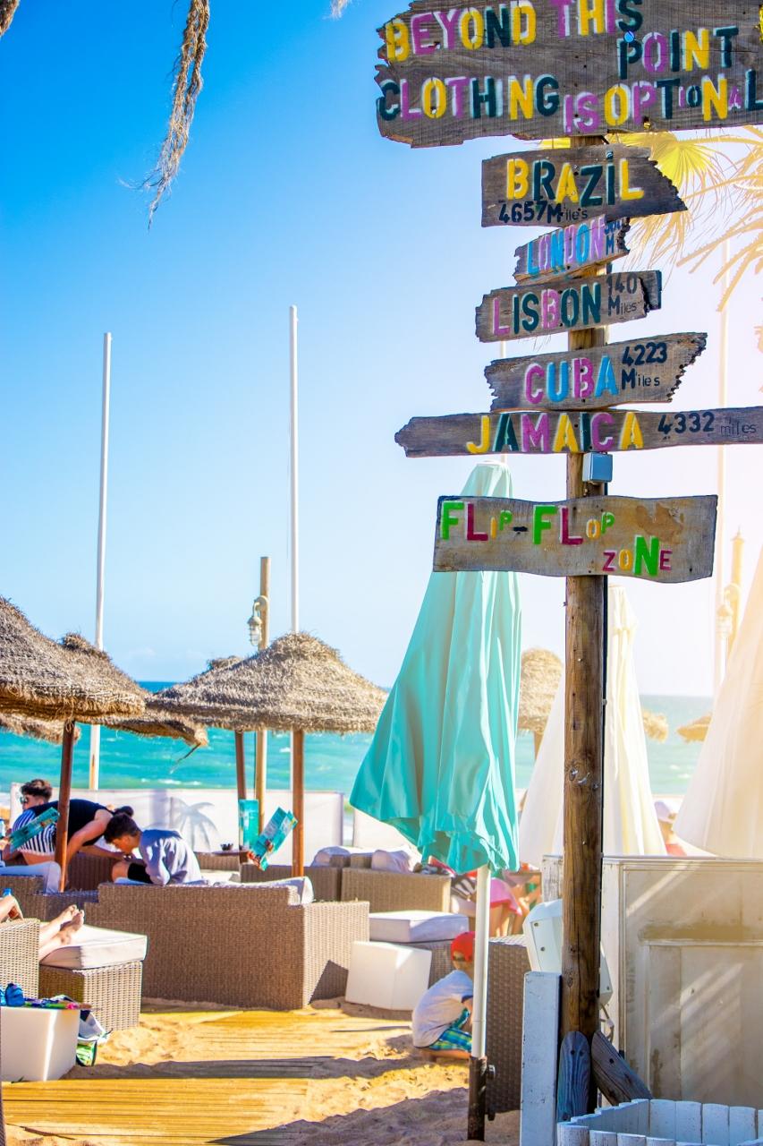 The Beach Bar In Algarve