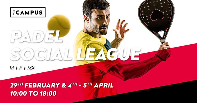 1st Padel Social League: All Levels - April