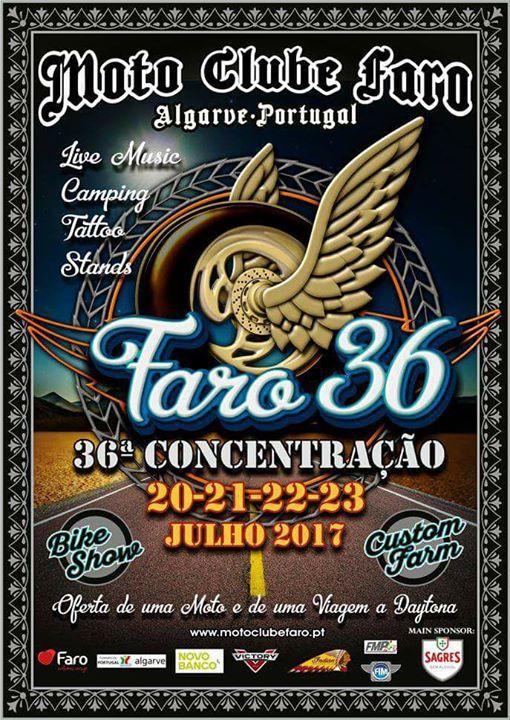 36° Concentração do MOTO CLUBE DE FARO