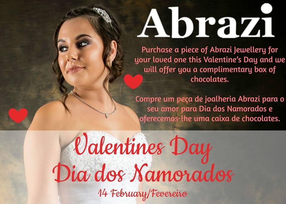 ABRAZI - Valentine's Offer at Chase Brides