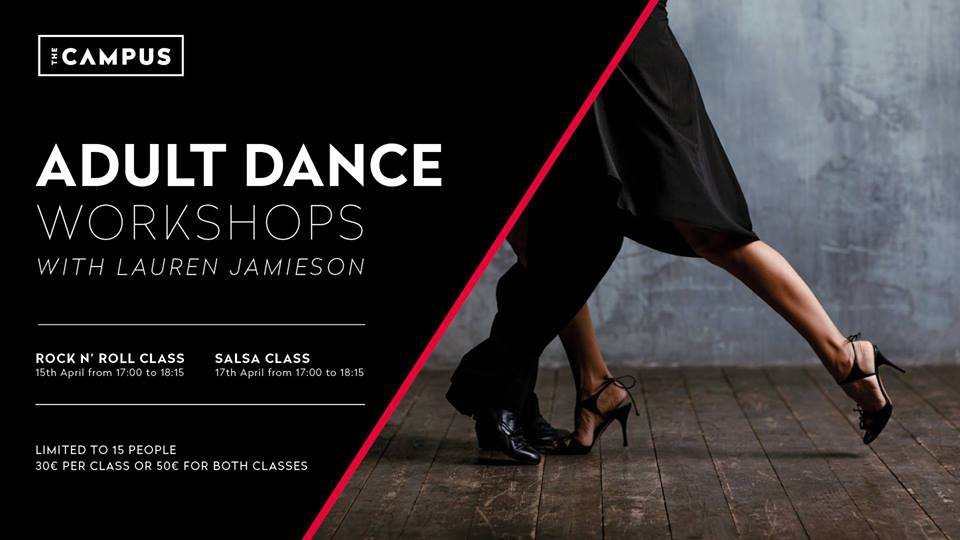 Adult Dance Workshops at The Campus