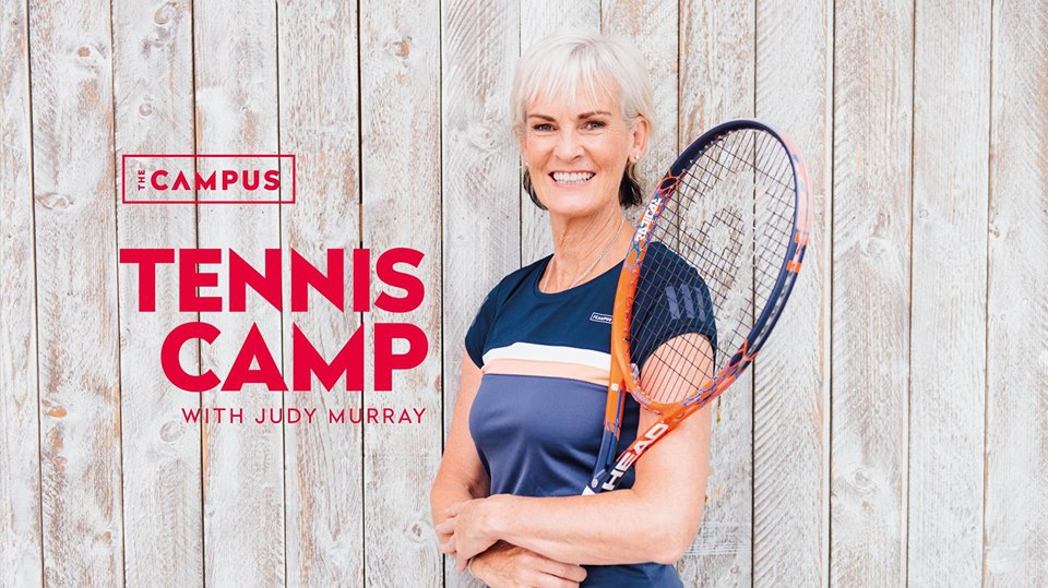 Adult Tennis Camp with Judy Murray