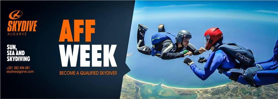AFF Week at Skydive Algarve