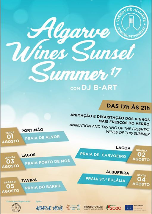 Algarve Wines Sunset Summer 17 (Praia de Sta Eulália)