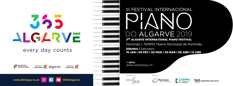 Algarve's 3rd International Festival of Piano Music