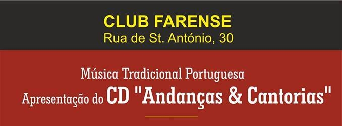 Andanças & Cantorias at Club Farense - Faro
