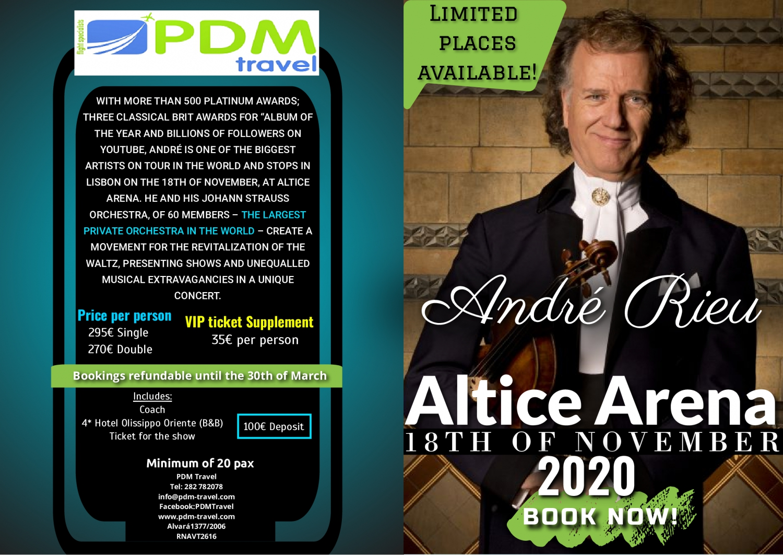 André Rieu concert- PDM Travel Trips