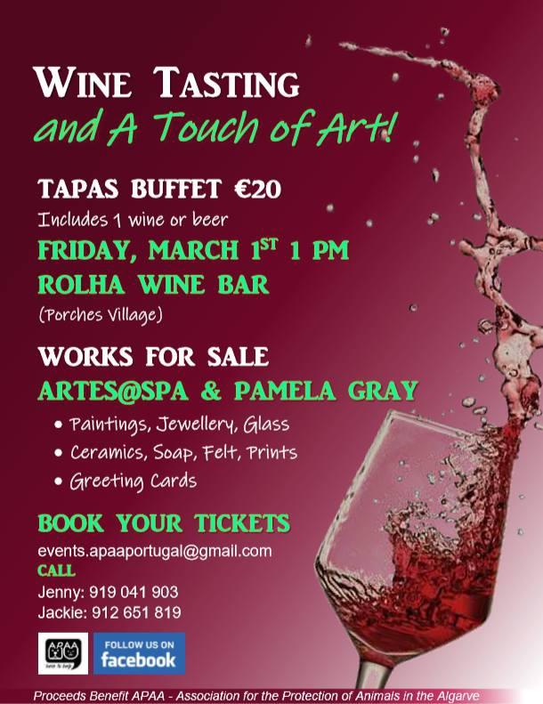 APAA Wine, Tapas and Art