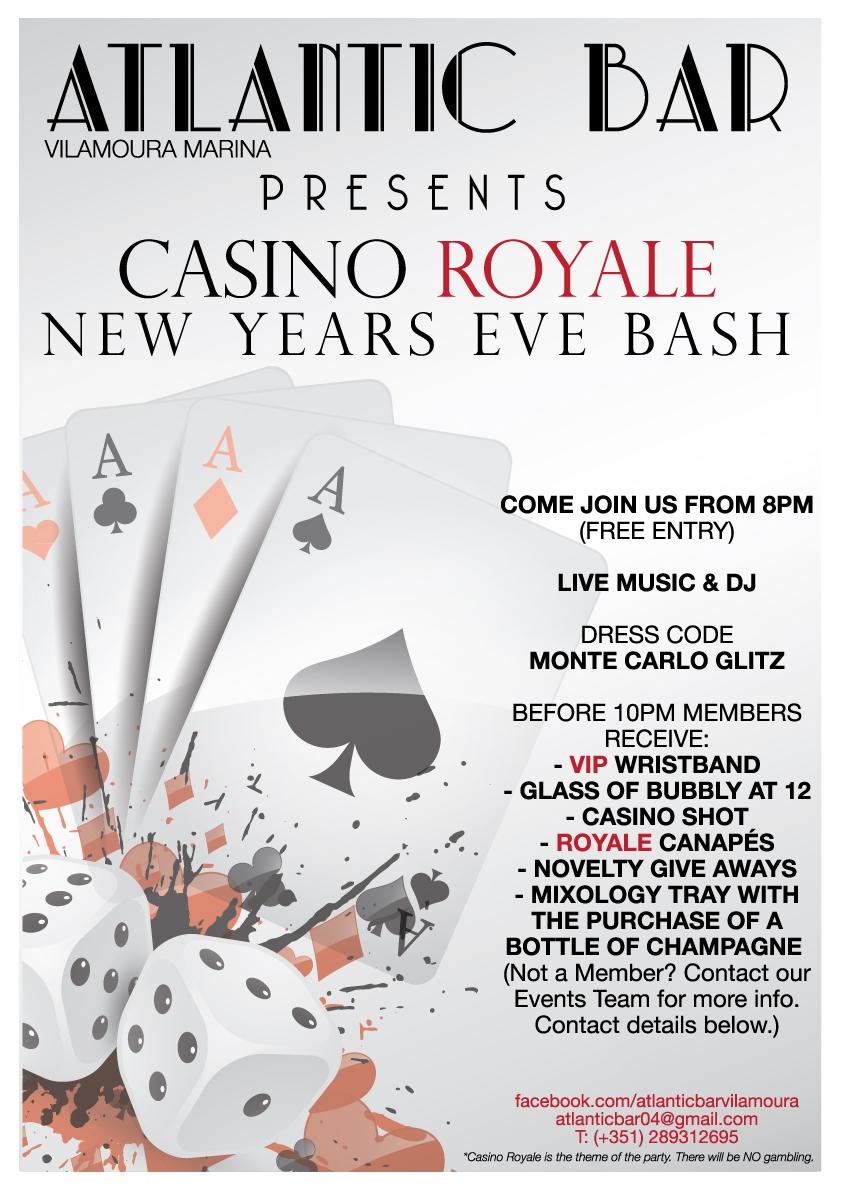 Atlantic Bar Presents Casino Royale