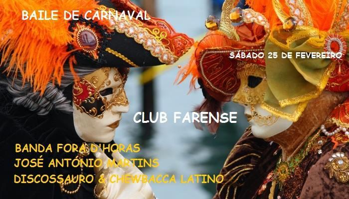 Baile De Carnaval 2017 No Club Farense