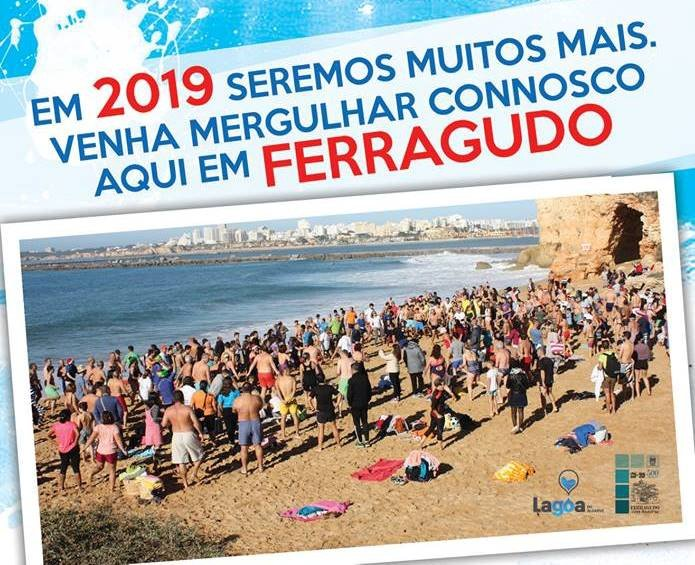 Banho de Mar - New Year's Day dip in the sea