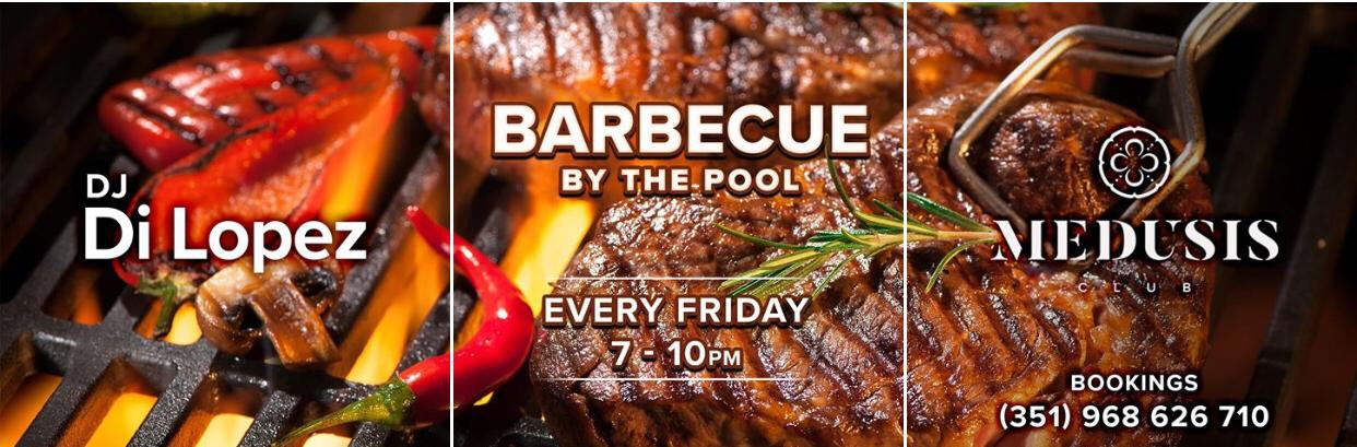 BBQ by the Pool at Medusis Club