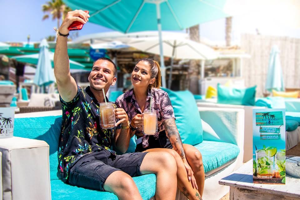 Beach Bar Selfie