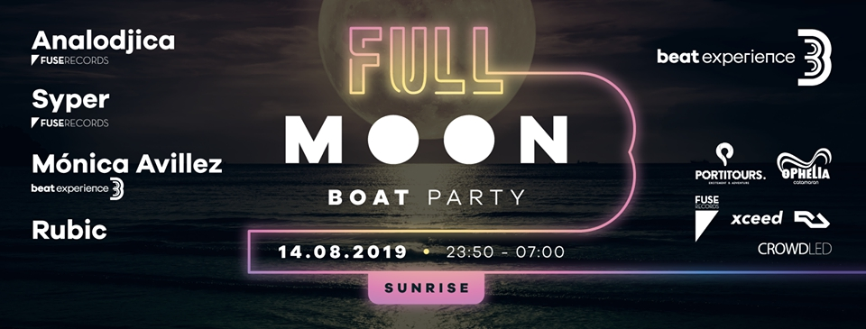 Beat Experience Full Moon Boat Party