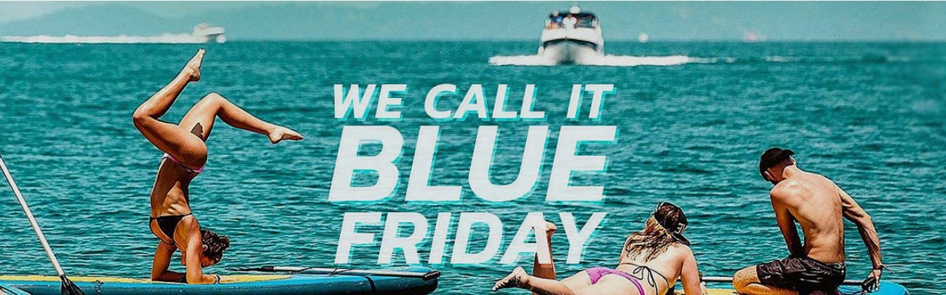 Blue Friday Discount at Seabookings