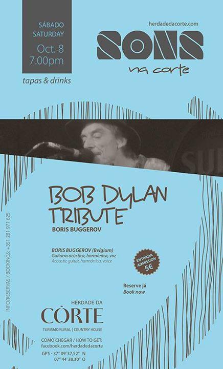 Bob Dylan Tribute - Herdade da Corte