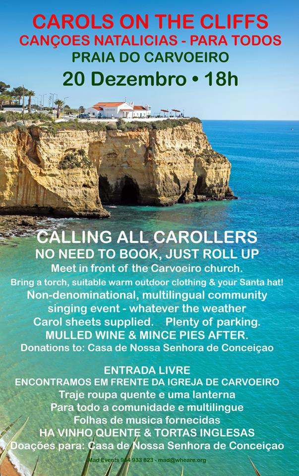 Carols on the Cliffs of Carvoeiro
