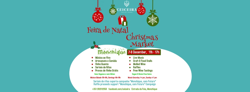 Ceiceira's Indoor Christmas Market & Live Music Weekend