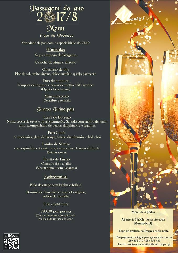 Celebrate New Year's Eve at Monty's