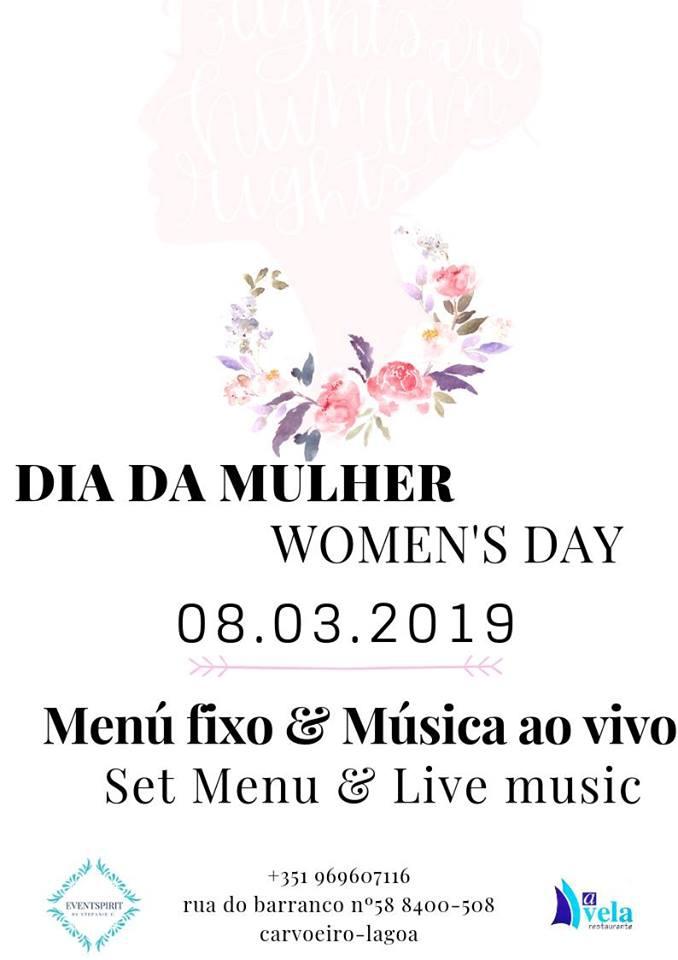 Celebrate Women's Day at A Vela Restaurant