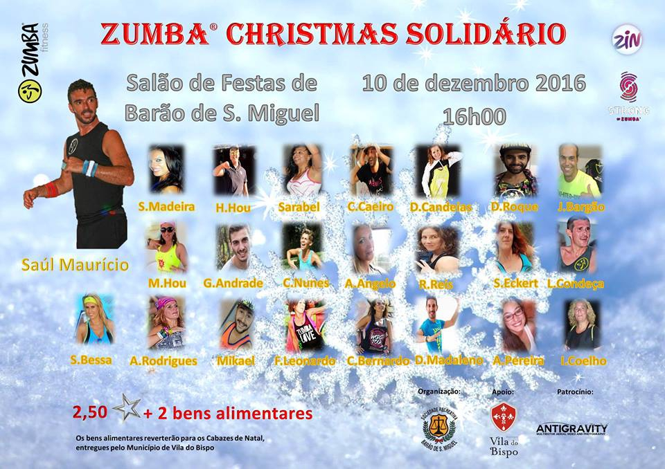 Charity Christmas Zumba Fitness