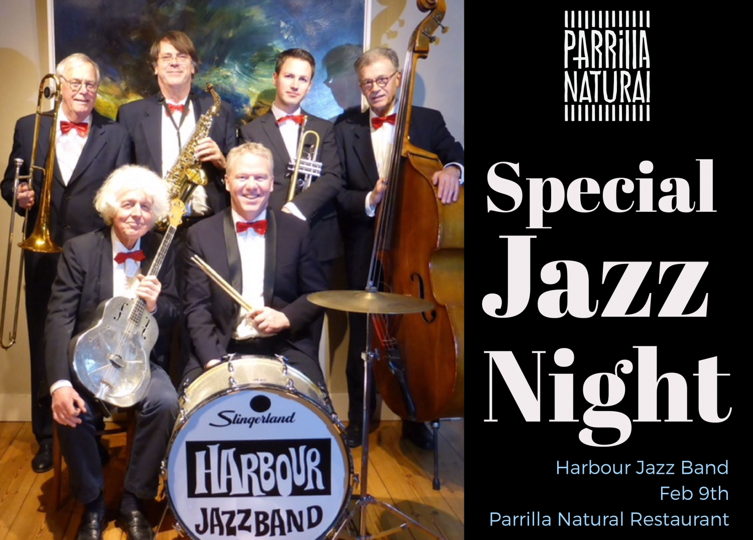 Charity Jazz Night at Parrilla Natural