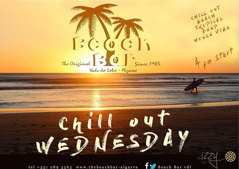 Chill Out Wednesdays at The Beach Bar