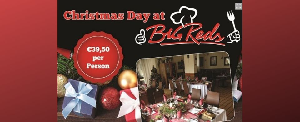 Christmas Day Lunch at Big Red's