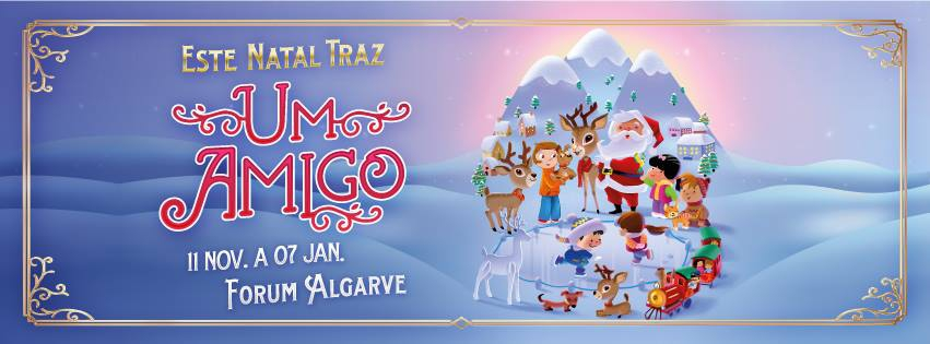 Christmas Village & Ice Rink at Forum Algarve