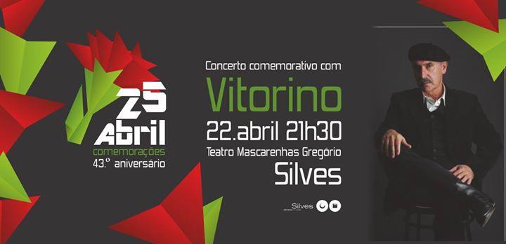 Concerto Comemorativo do 25 de Abril com Vitorino