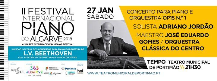 Concerto para Piano e Orquestra OP15 Nº1-Solista Adriano Jordão