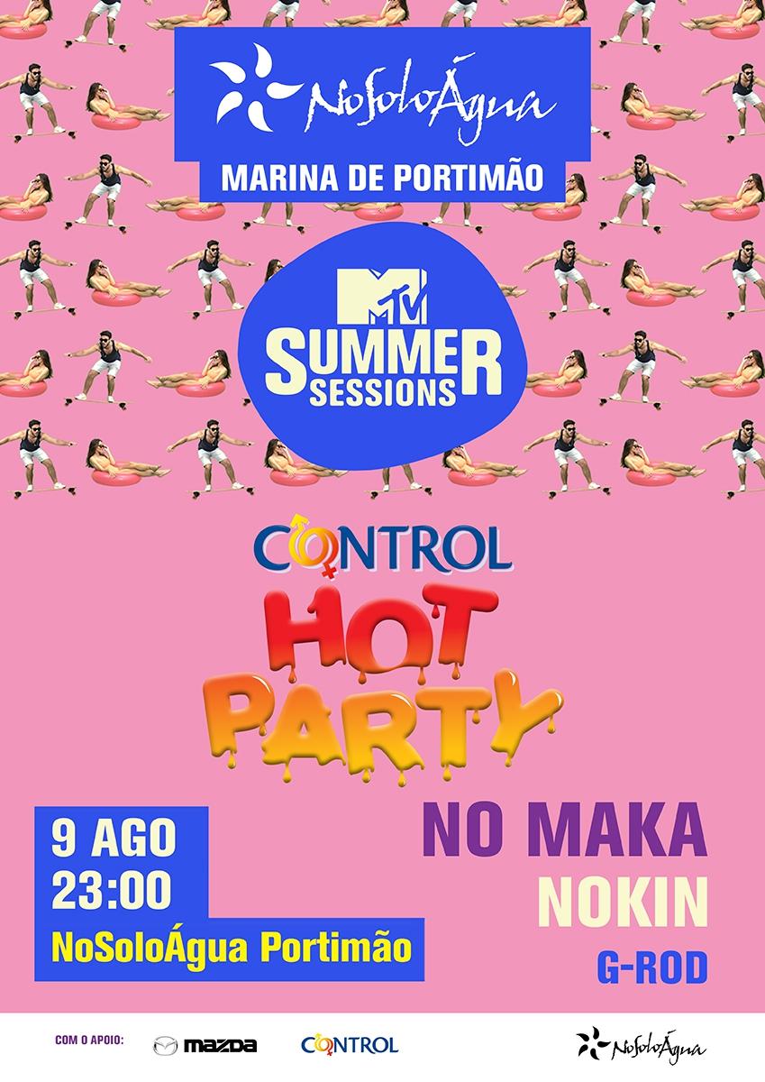 Control Hot Party at NoSoloÁgua Portimão