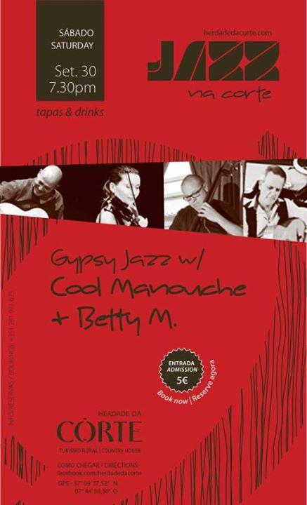 Cool Manouche & Betty M. na Herdade da Corte