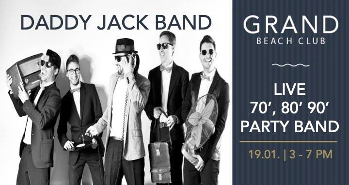 Daddy Jack Band Live at The Grand Beach Club