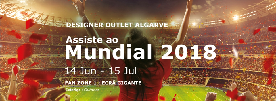 Designer Outlet Algarve World Cup Fan Zone