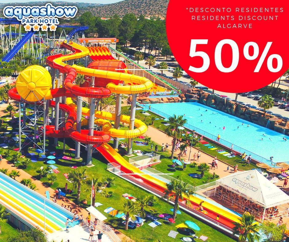 Discount for Algarve Residents at Aquashow Park