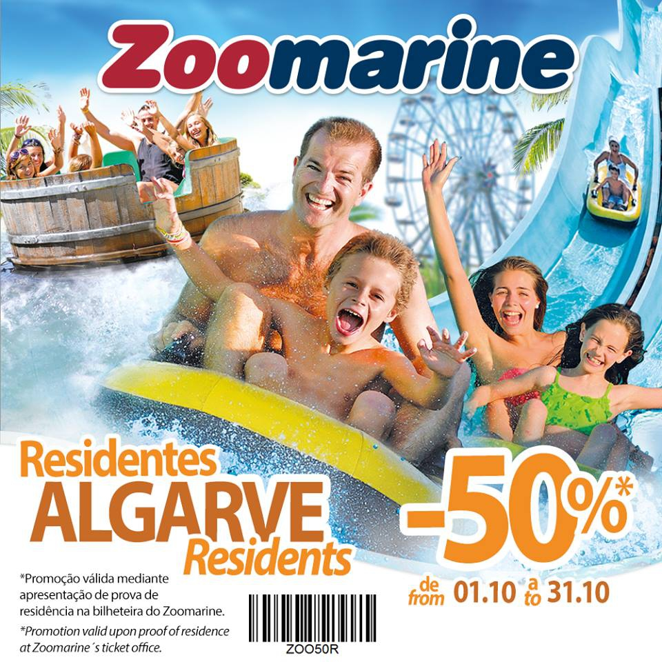 Discount for Algarve Residents at Zoomarine