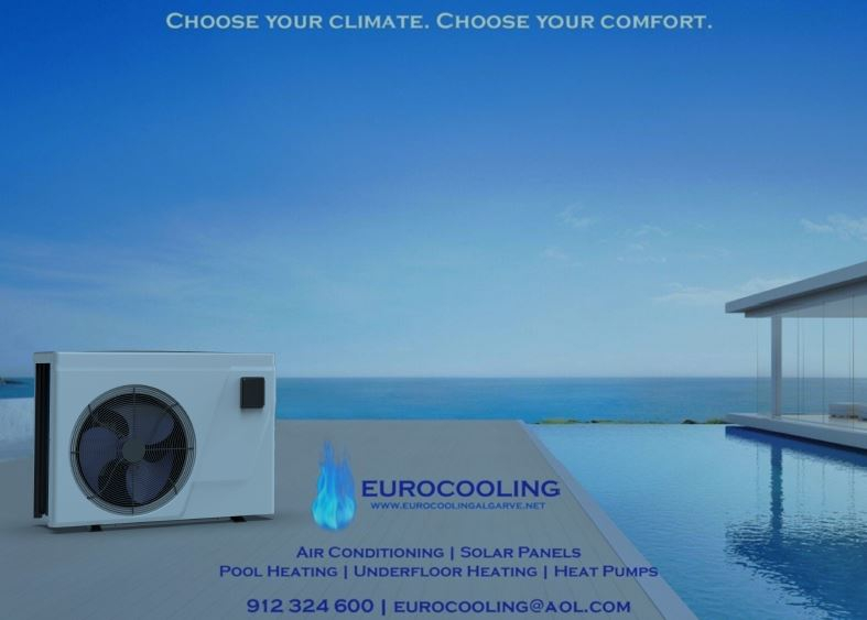 Discount on Eco Pool Heaters at Eurocooling Algarve