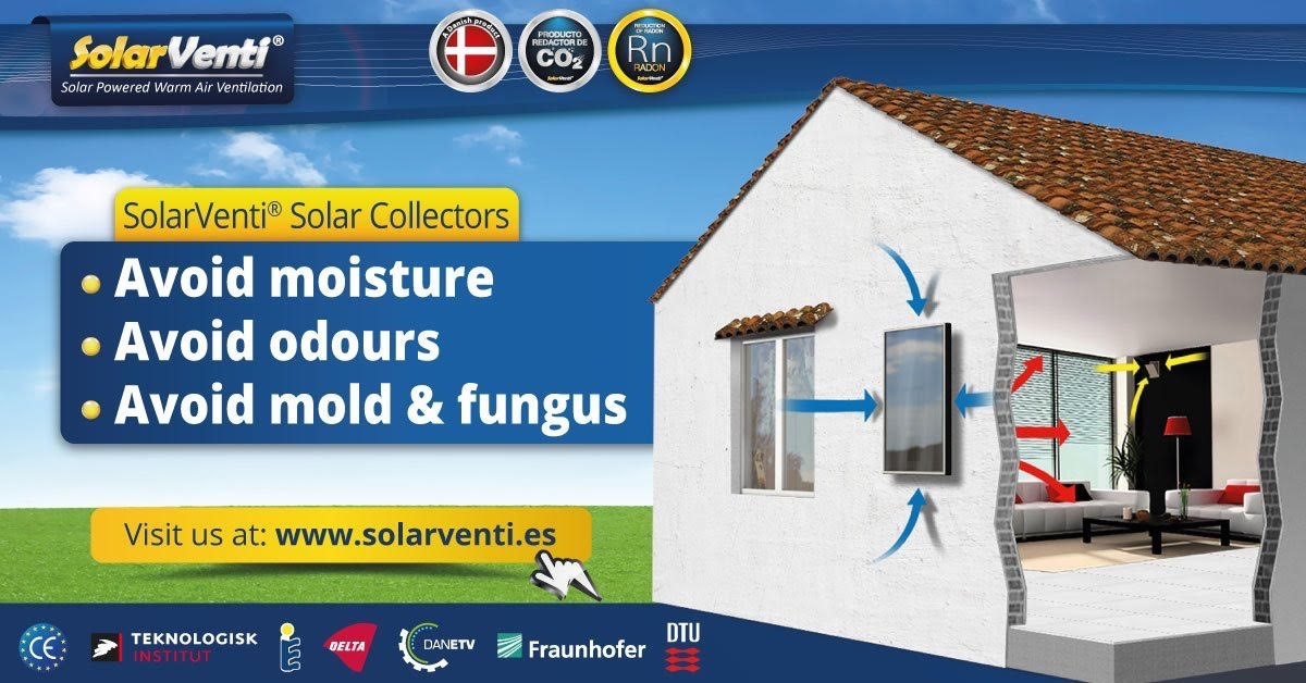 Discount on SolarVenti Panels at Eurocooling