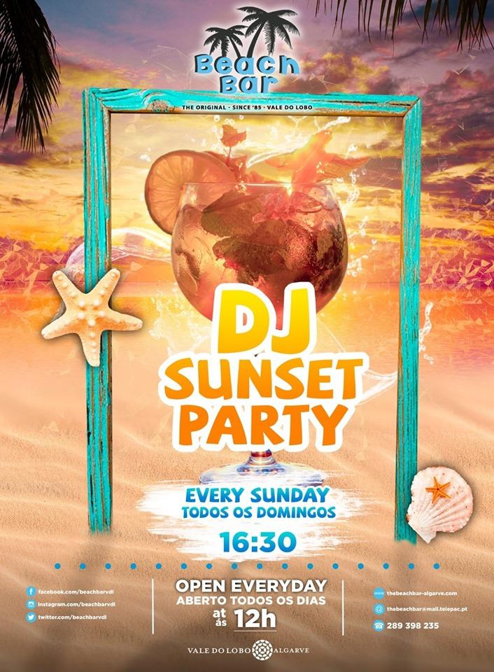 DJ Sunset Party at the Beach Bar