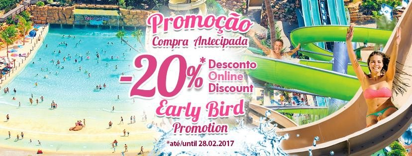 Early Bird Discount at Zoomarine