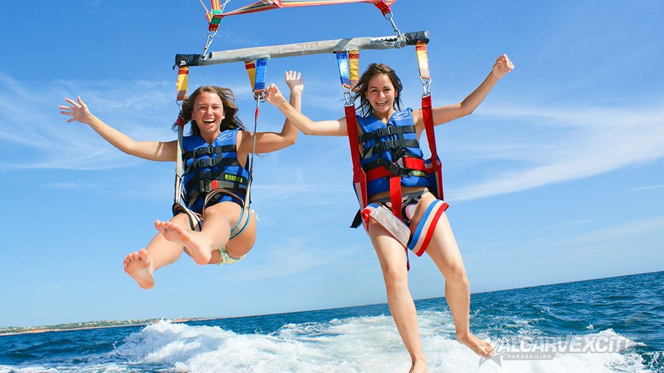 Easter Parasailing Special with AlgarveXcite