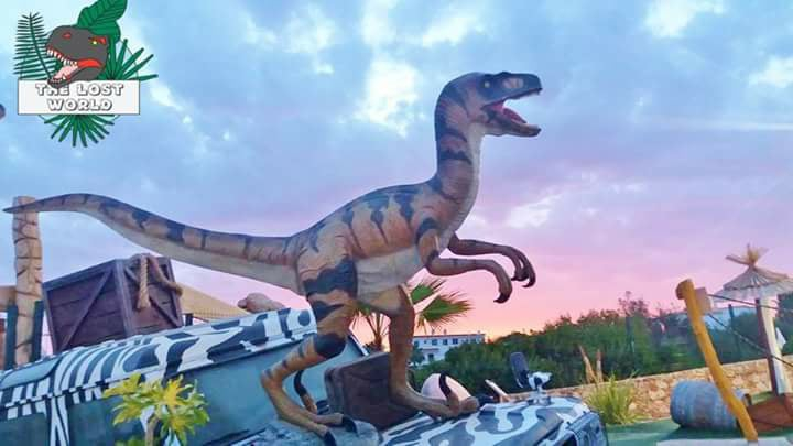 Explore the Lost World at Adventure Golf Alvor