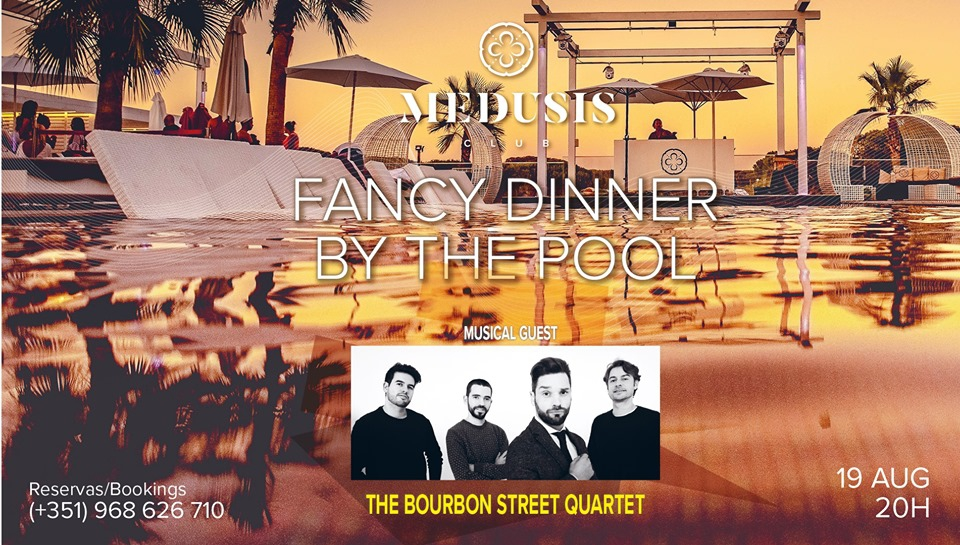 Fancy Dinner By The Pool at Medusis